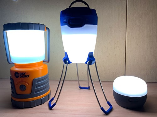 3 of the best LED lanterns