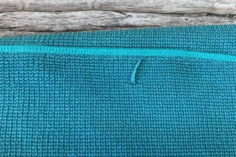 Loose threads started appearing on my REI Multi Towel after 4 months of usage.