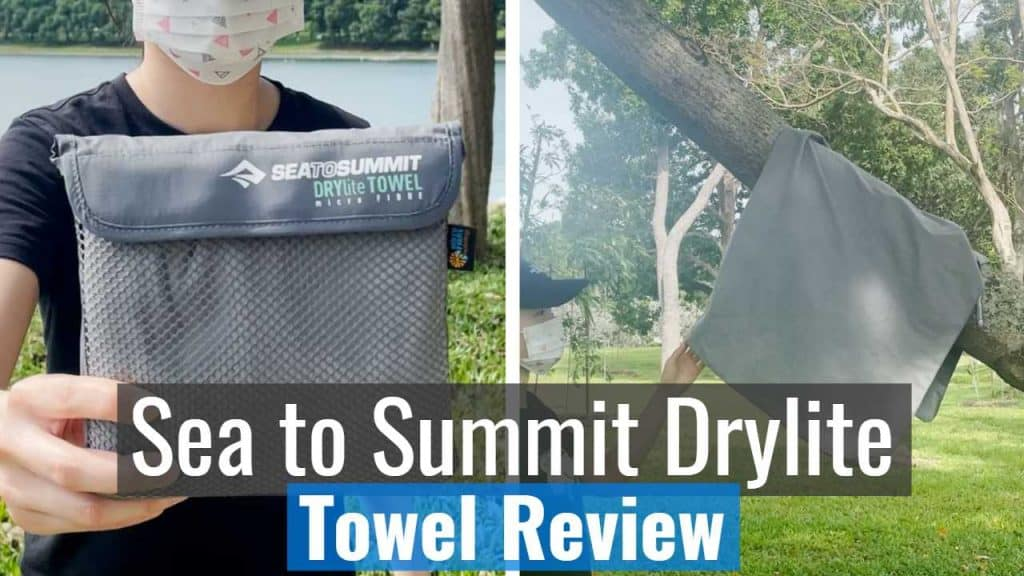 Sea to Summit Drylite Towel Review