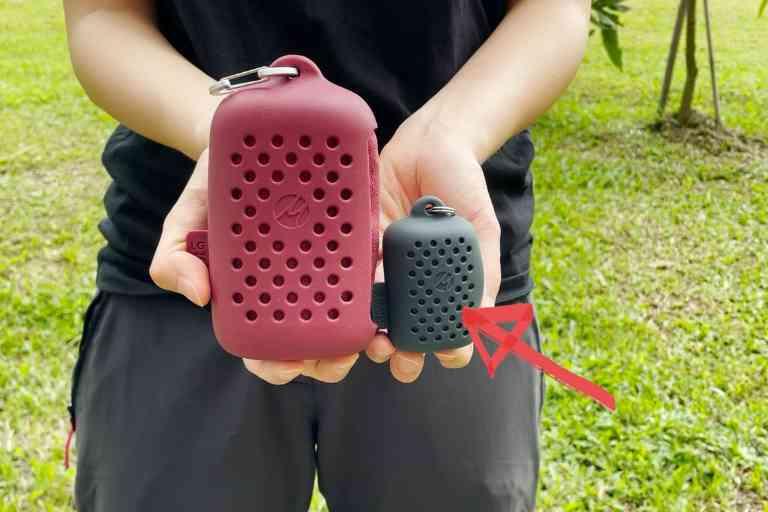The Matador NanoDry Shower size has a tiny counterpart - The Matador NanoDry Trek size.